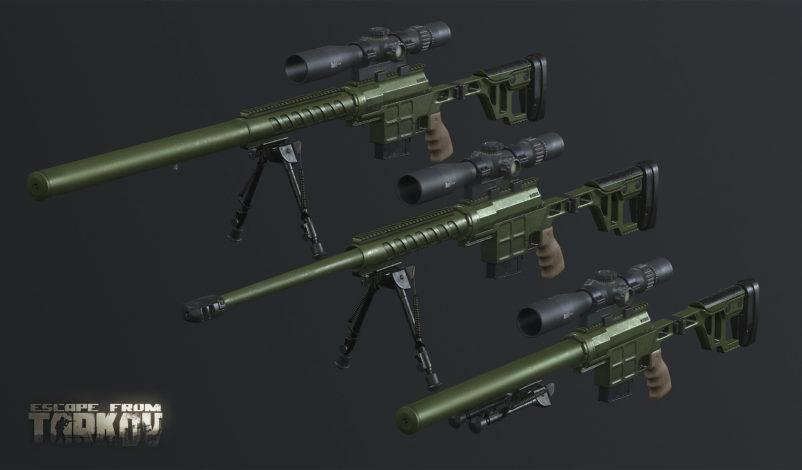 Новое оружие ДВЛ-10 Диверсант
