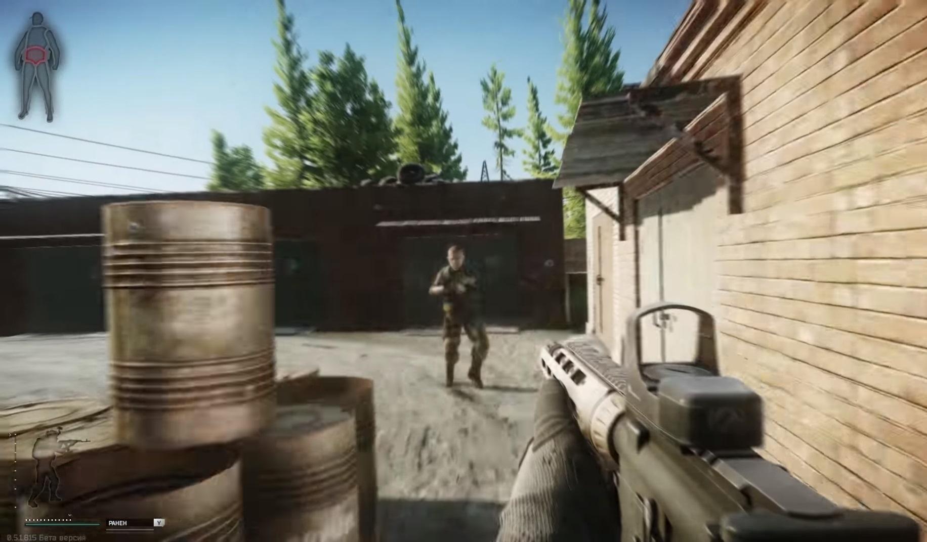 Escape from Tarkov стрельбы