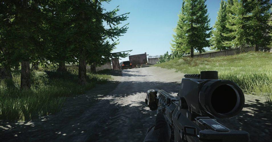 Escape from Tarkov выходы с локации Лес (Карта)