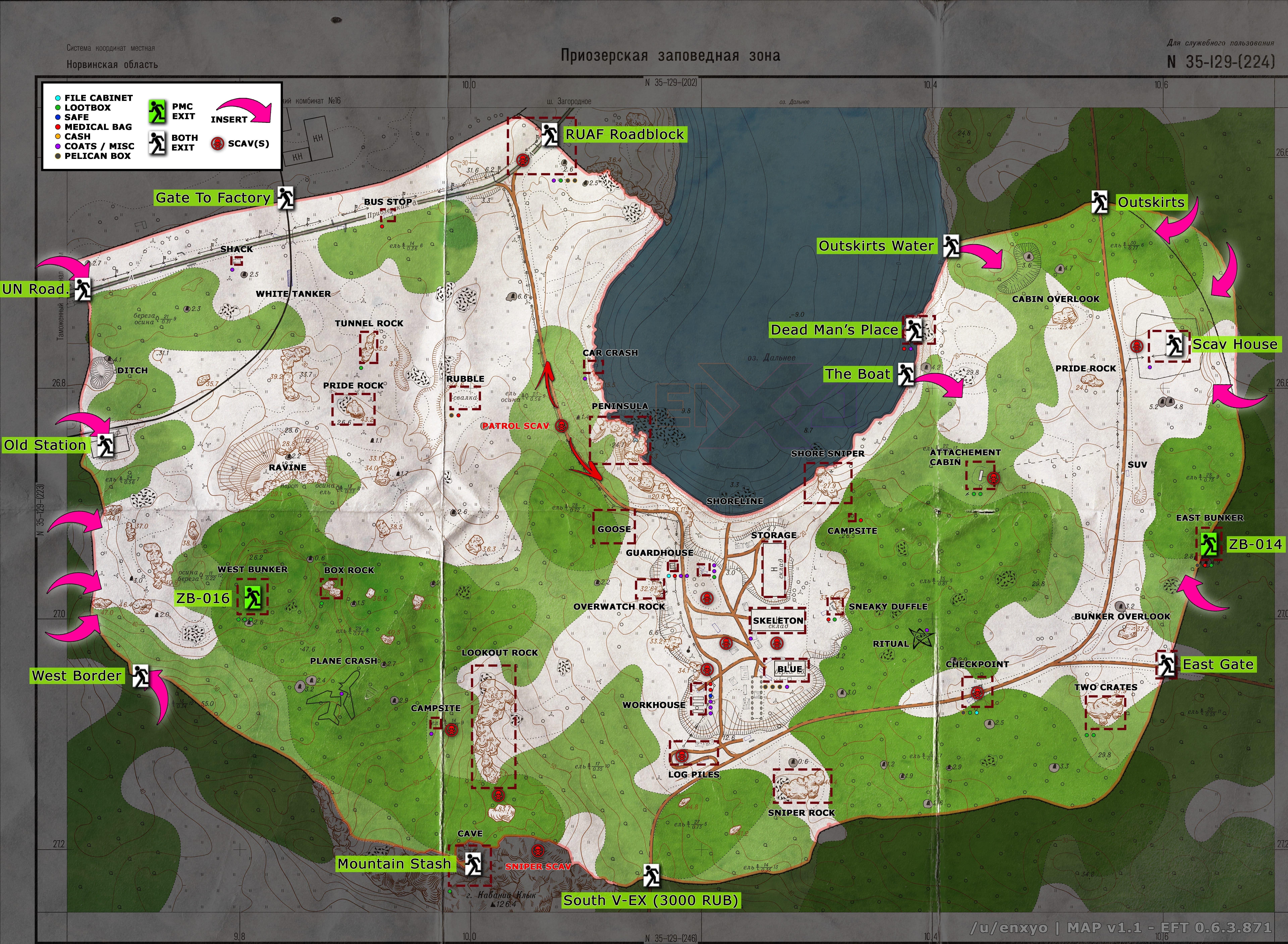 Escape From Tarkov карта Леса в 8К