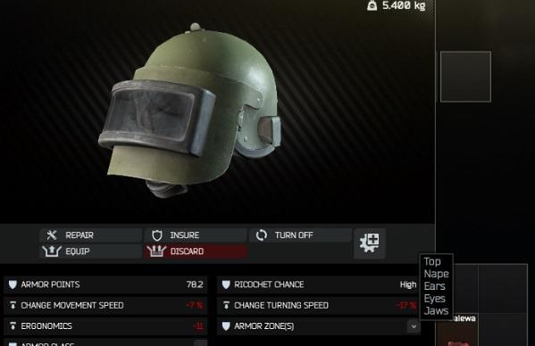шлем тарков